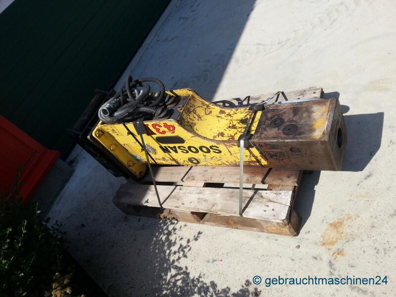 Abbruchhammer für Bagger von ca. 6-9 toSB43II TS-P