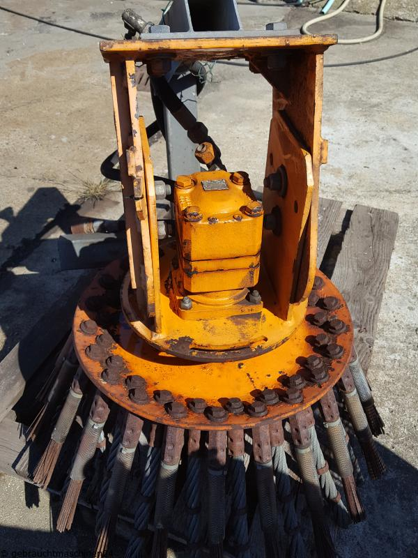Wildkrautbürste hydraulischWKB 750