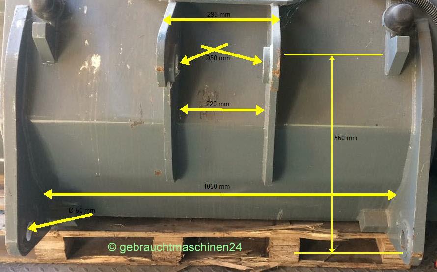 Seitenkippschaufel2120 mm