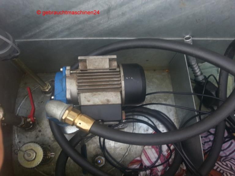 mobiler Baustellentank KraftstoffcontainerKC-1000