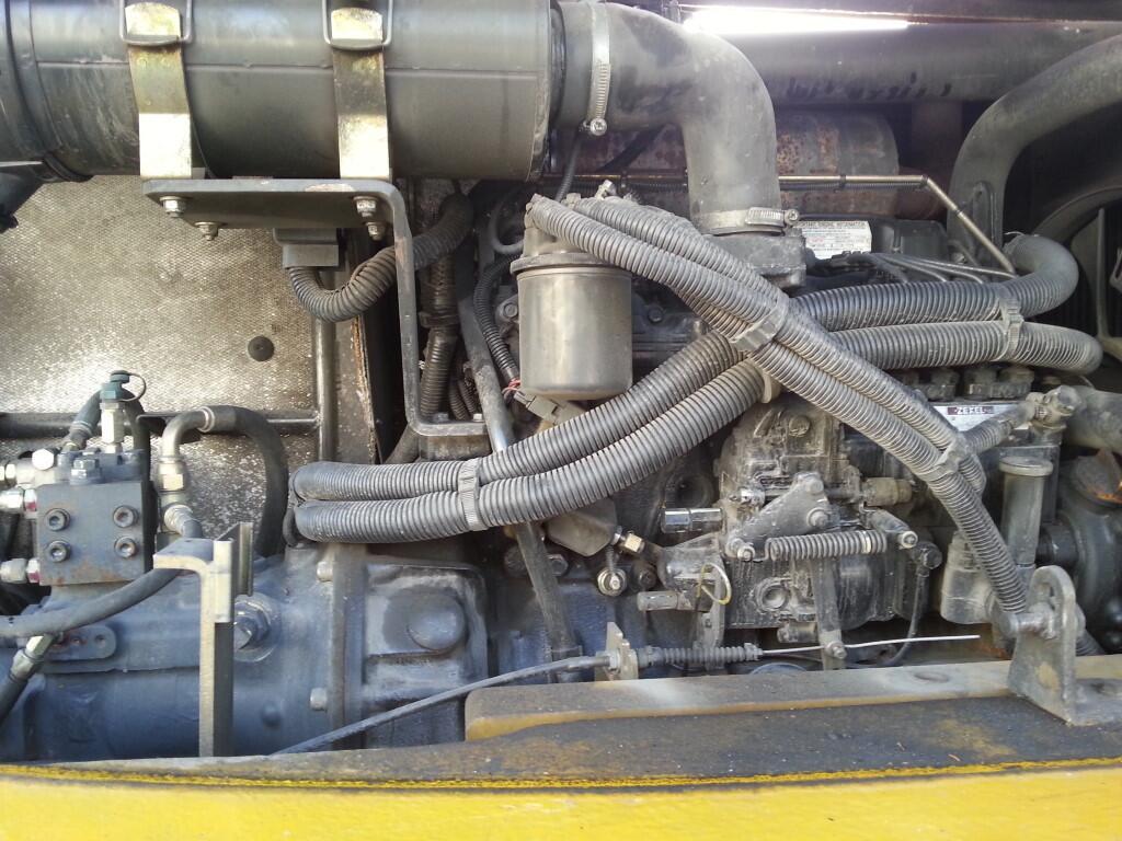 Mobilbagger 8 to DienstgewichtPW 75 R