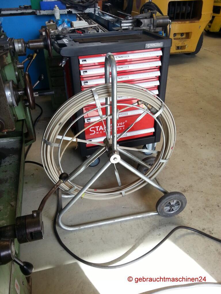 Röhrenschlange gebraucht mit Haspel, Einziehgerätca. 11 mm