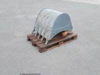 Schnellwechsler mit TiefenlöffelWacker-Neuson800 mm