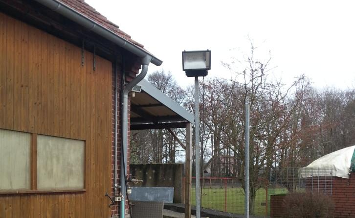 Baustellenstrahler mit Betonfuss 400 WattJet 5