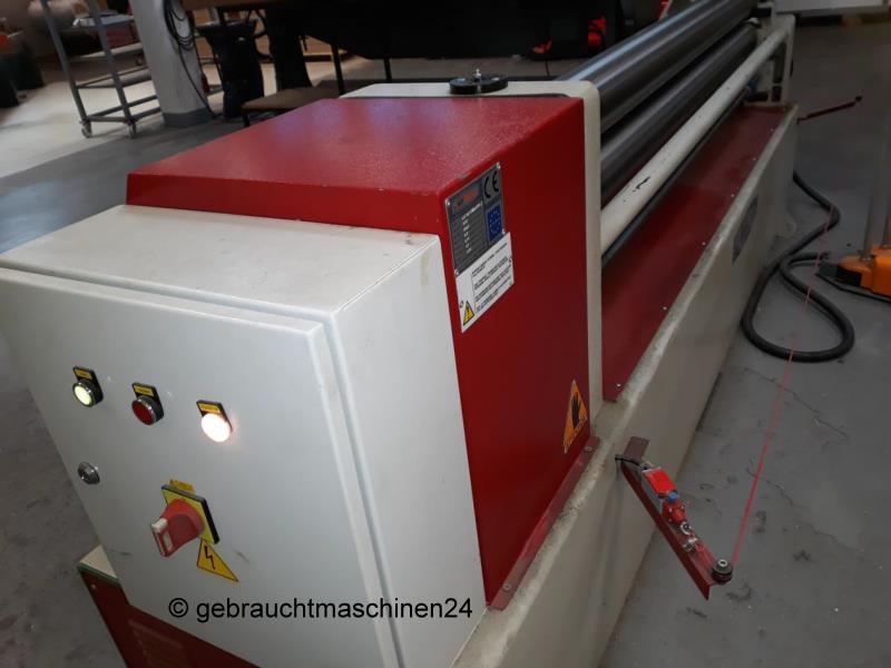 3-Walzen-Rundbiegemaschine motorischASM 140-20/4.0