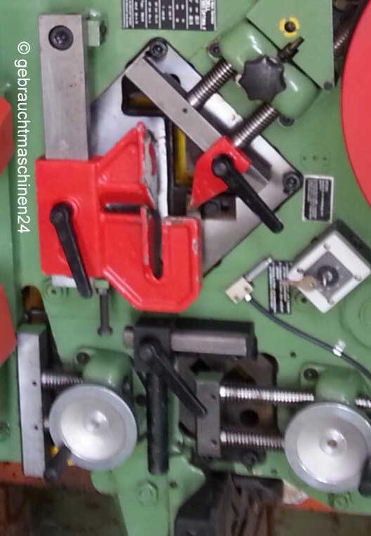 5-fach kombinierte ProfilstahlschereKBL 560 Optima F