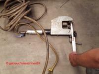 Kantenfräsmaschine für Rohre, tragbar