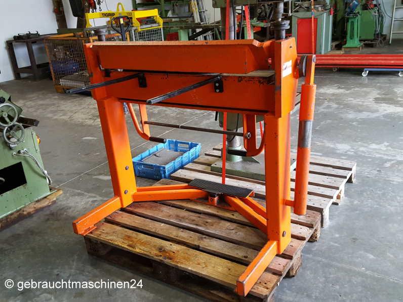 Schwenkbiegemaschine mit SegmentenHS-2S
