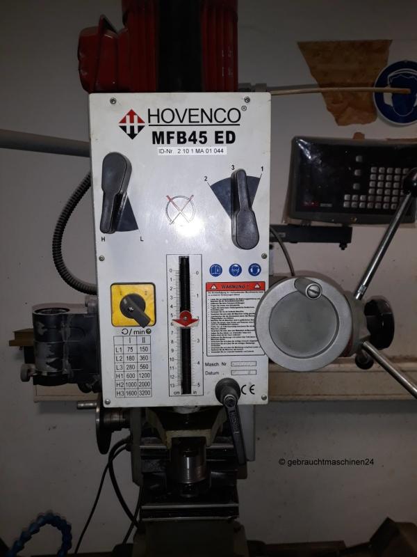 Bohr- FräsmaschineMFB 45 ED