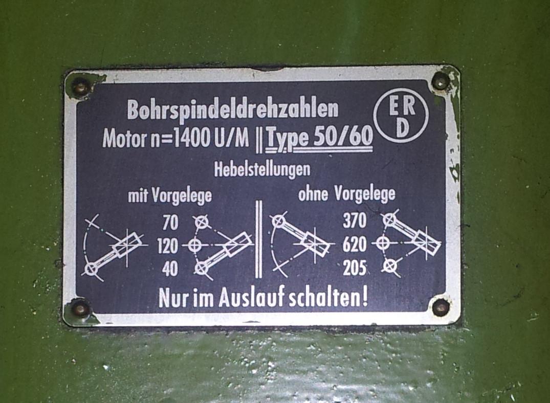 Standbohrmaschine MK 550/60