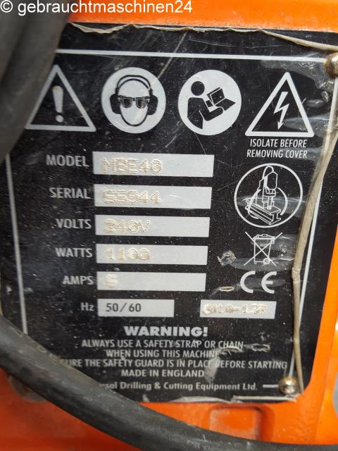 MagnetbohrmaschineMBE40