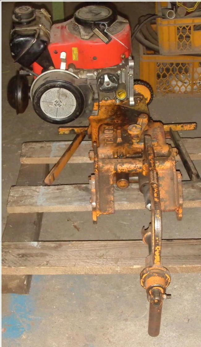 Schienenbohrmaschine, Gleisschrauber