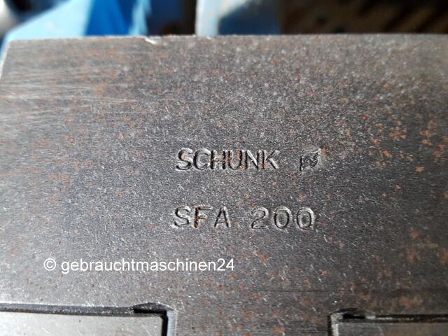 Schunk Drehbacken (Drehmaschinenzubehör)GBK 200, SFA 200
