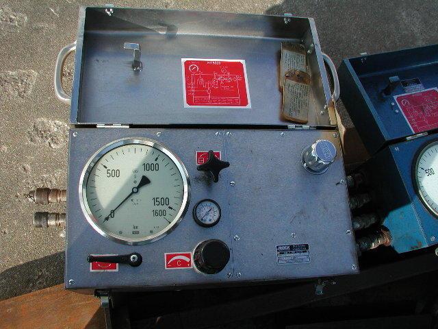 mobiles Hydraulikaggregat, pneumatisch angetriebenHV 6028