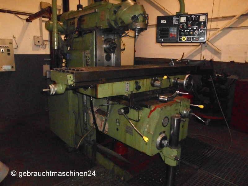 Universalfräsmaschine, leicht reparaturbedürftigFCM1800