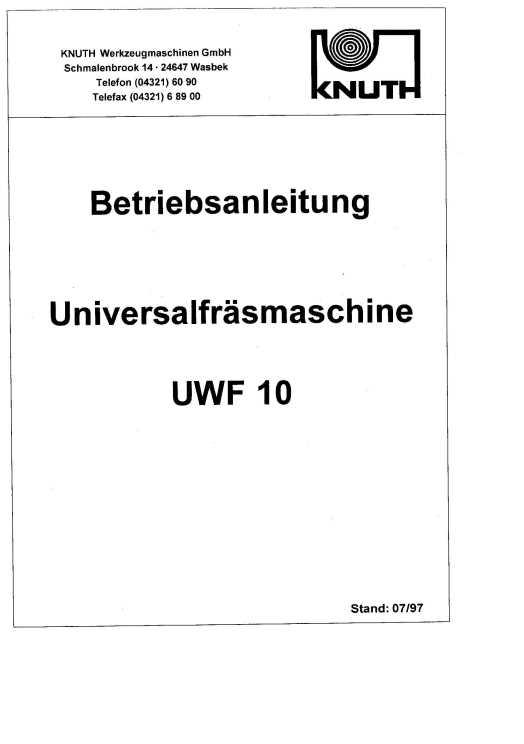 HandbuchUWF 10