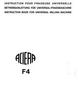 Bedienungsanleitung Aciera F 4