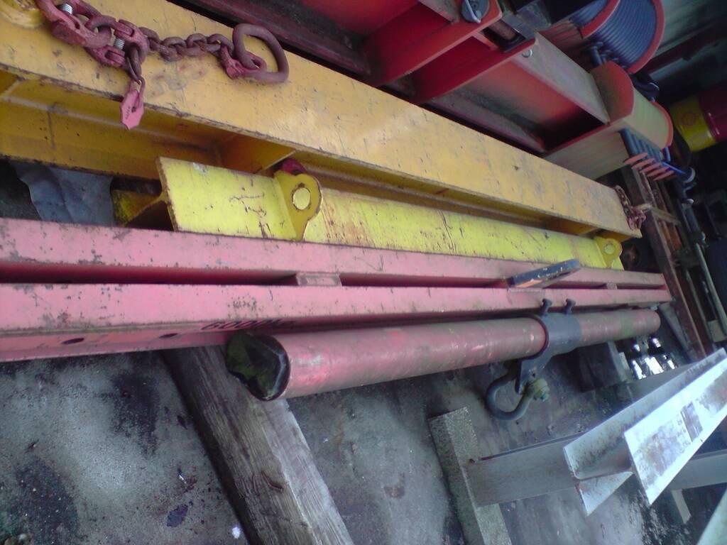 Krantraverse 4 to x ca. 3 m lang4 rd