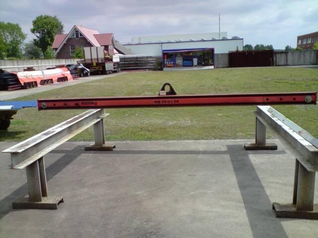 Krantraverse 6 to x ca. 4,50 m lang6