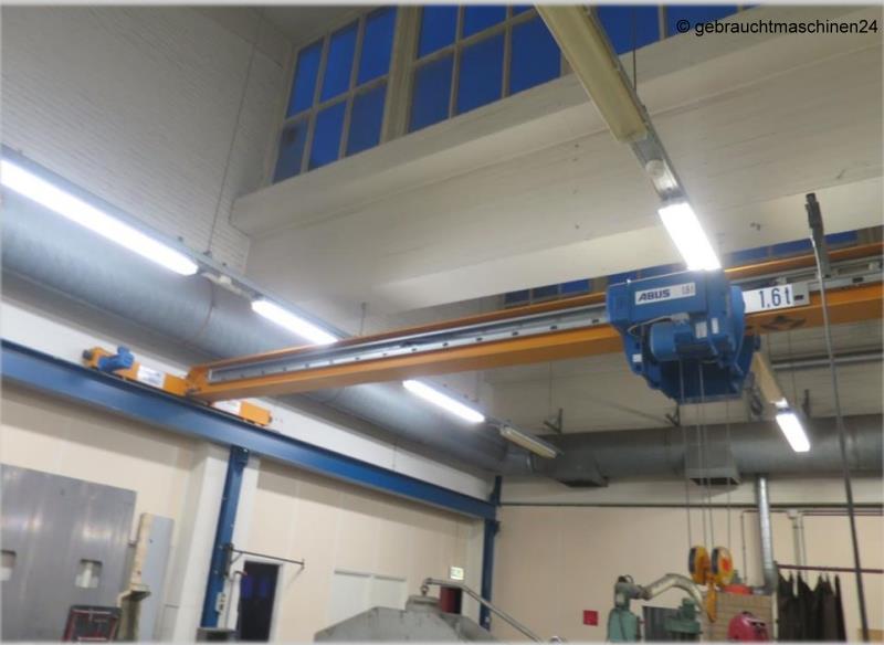 Einträger-BrückenkranELV 1,6 to x 10m