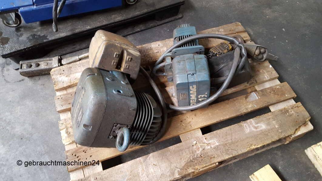 2 x Elektrokettenzug 1 toPK und DKUN