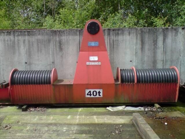 Krantraverse 40 to x ca. 4 m lang40