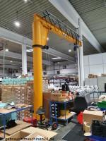 Säulenschwenkkran 1 to x 5 m  Abus VS