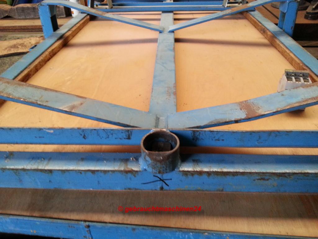 Rollplatte für Hebelroller Transportroller