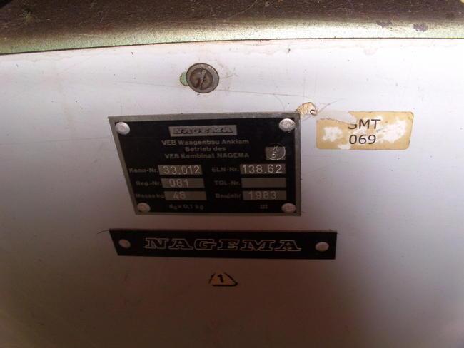 Plattformwaage5-200 kg