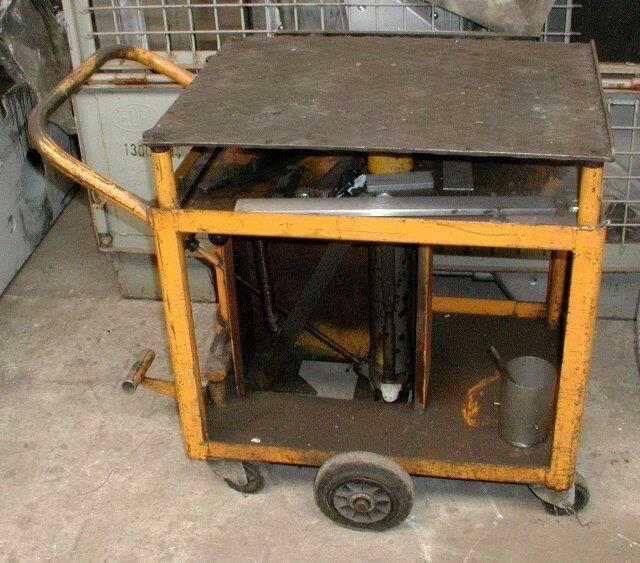 hydraulischer HubtischSchwarzHW400