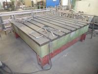 T-Nutenplatte 2500 x 2500 mm gebraucht kaufen