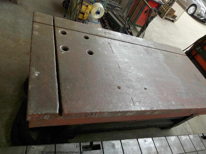 Aufspannplatte, Richtplatte, Schweißtisch mit T-Nuten2500 x 1250 mm