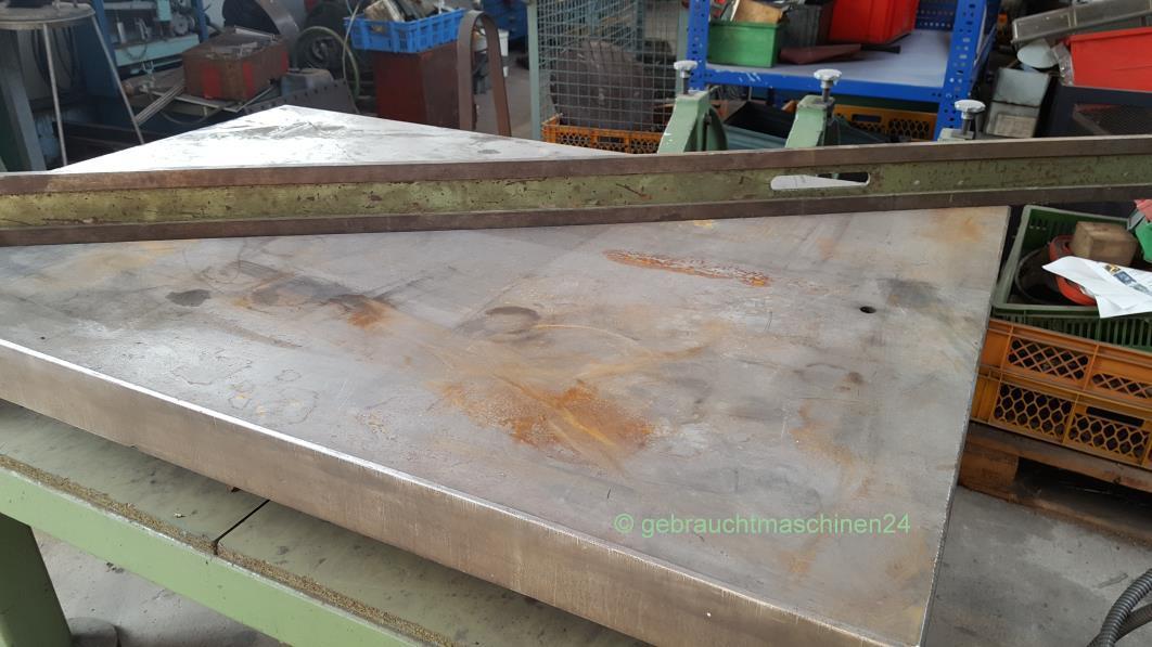 Anreißplatte auf Tischgestell / Richtplatte1,0 x 1,50 m