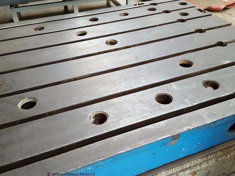 Aufspannplatte aus Guss, T-Nutenplatte3000 x 1725 x 250 mm