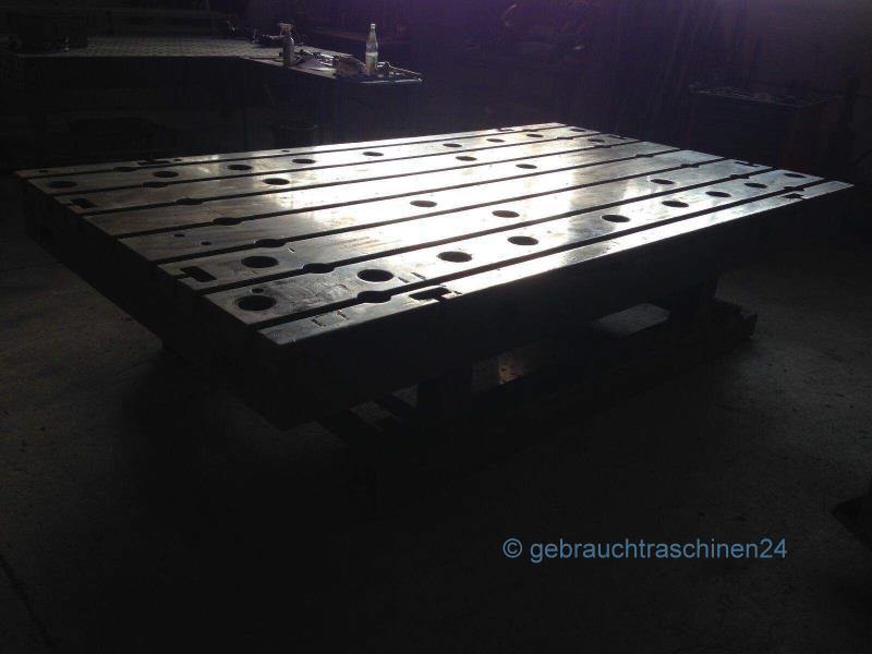 Aufspannplatte, Guss, T-Nutenplatte1730 x 2980 mm