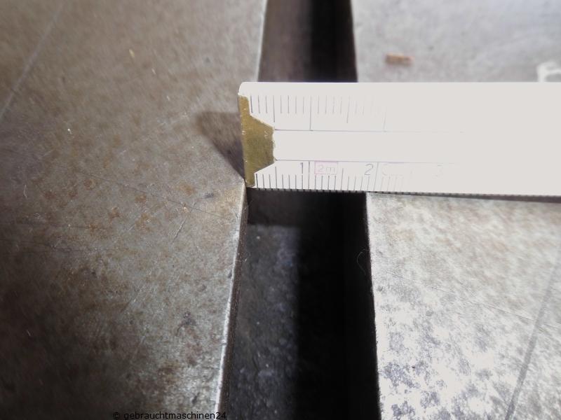 Teiltisch mit T-Nuten hydraulischTFh 520630
