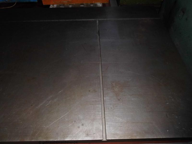 Anreißplatte Messplatte3500 x 1500 mm