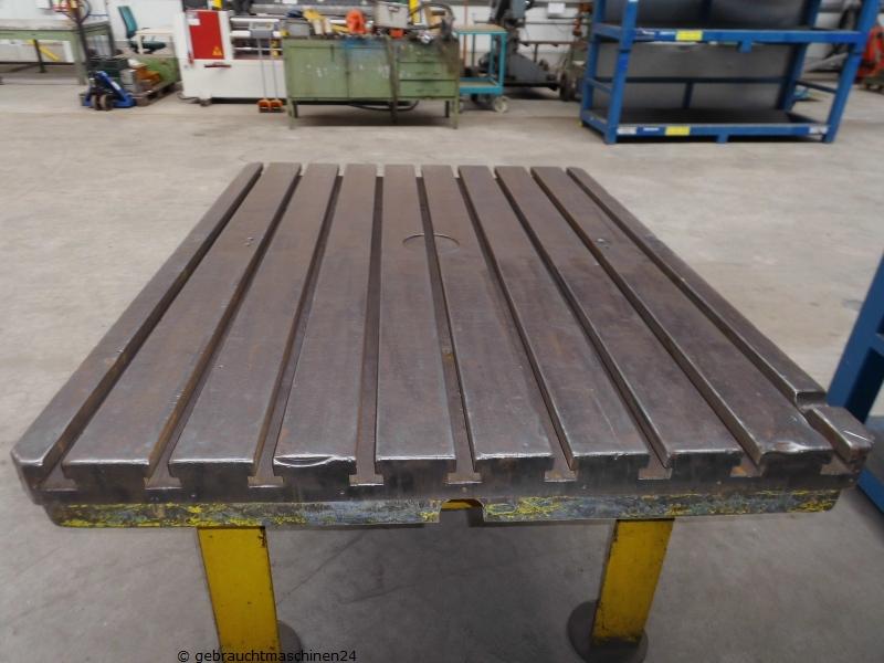 T-Nutenplatte mit Tischgestell1600 x 1200 mm