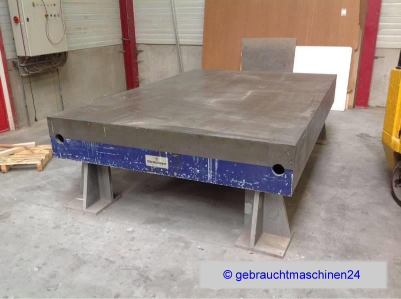 Anreißplatte Anreißtisch3000 x 2000 x 850 mm