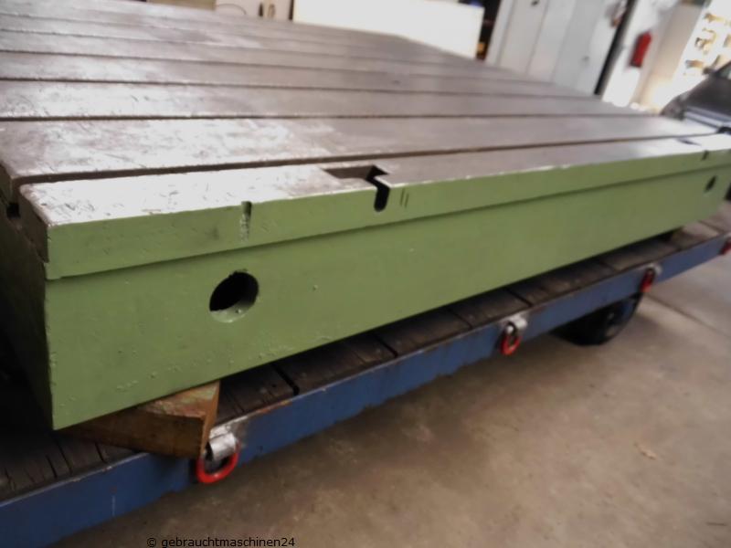 Nutenplatte Aufspannplatte3500 x 1360 x 310 mm