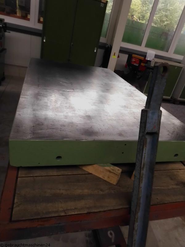 Anreißplatte-Guss2000 x 1200 x 165 mm