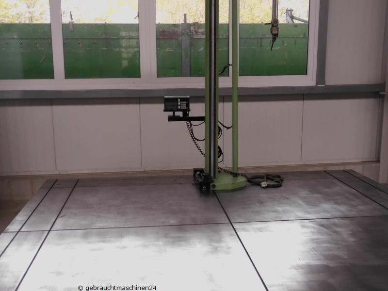 Messplatte + Horizontalarm-Messmaschine-digitalAK16
