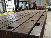 Aufspannplatte aus Guss, T-Nutenplatte 4000 x 2100 x 400 mm