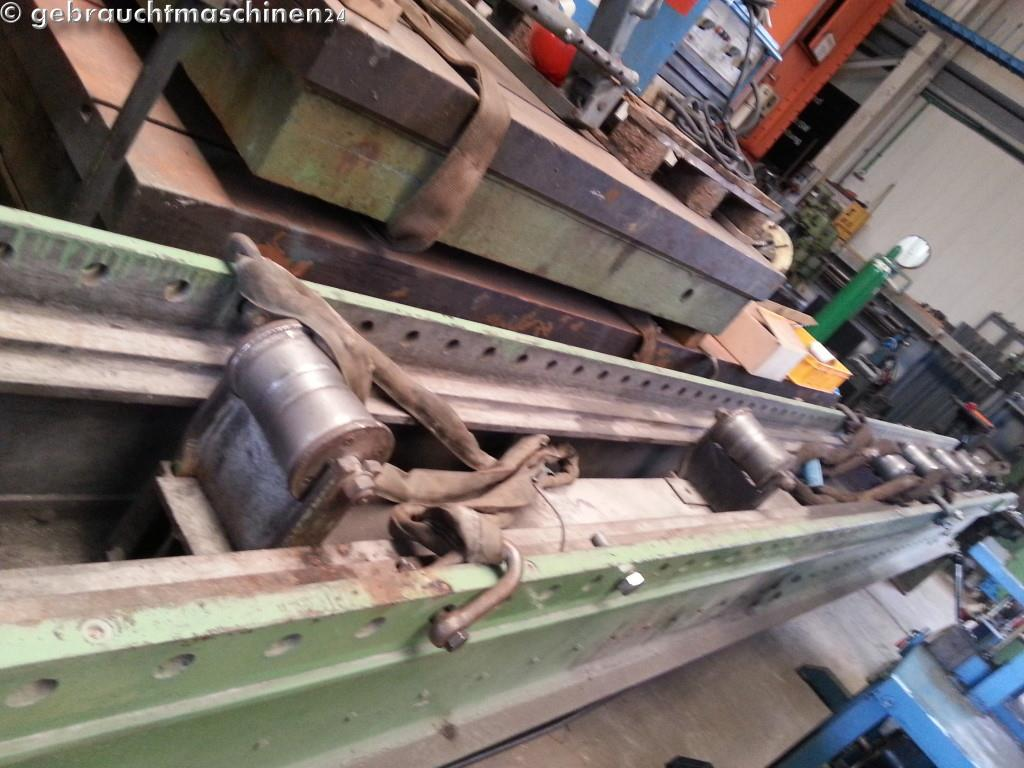 Richtpresse für Rohre - RohrrichtpresseLänge ca. 8 m