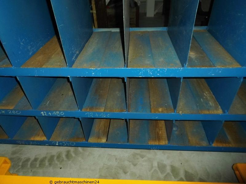 Werkstattregal mit Boxen gebraucht  Metall4 m