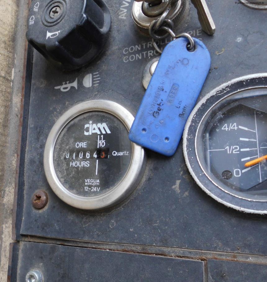 Aufsitzkehrmaschine Diesel1250 D