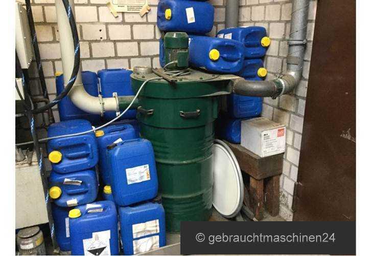 Dampfentfettungsanlagemit Cebeco Einhausung