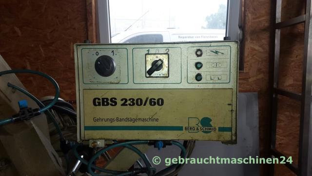 Metallbandsäge GehrungsbandsägeGBS 230/60
