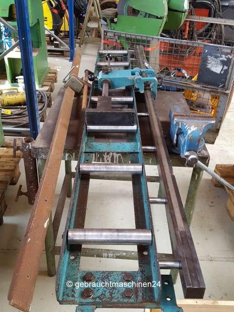 Rollenbahn mit Längenanschlag2 m