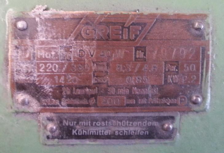DoppelschleifbockDV 40 W